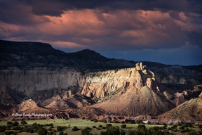 ghost ranch sunset