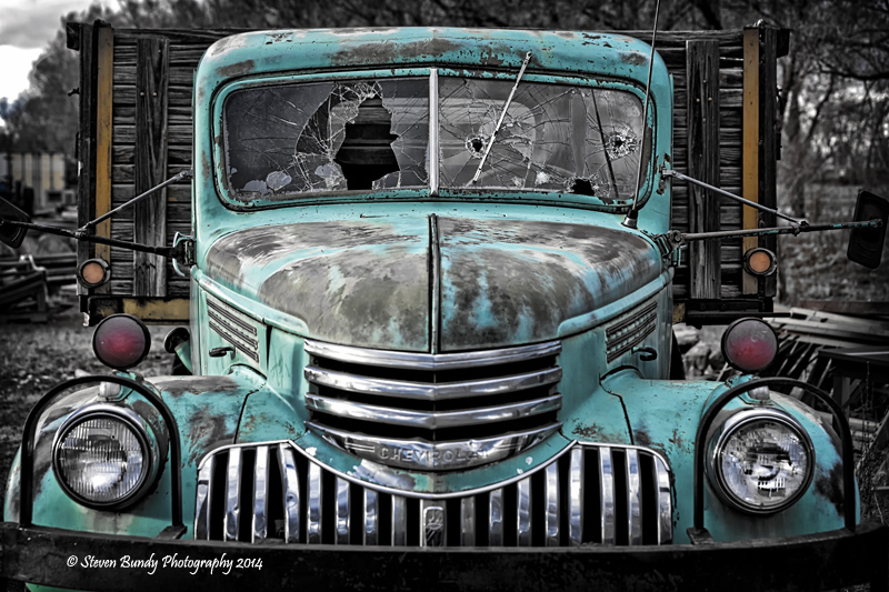 old chevy flatbed