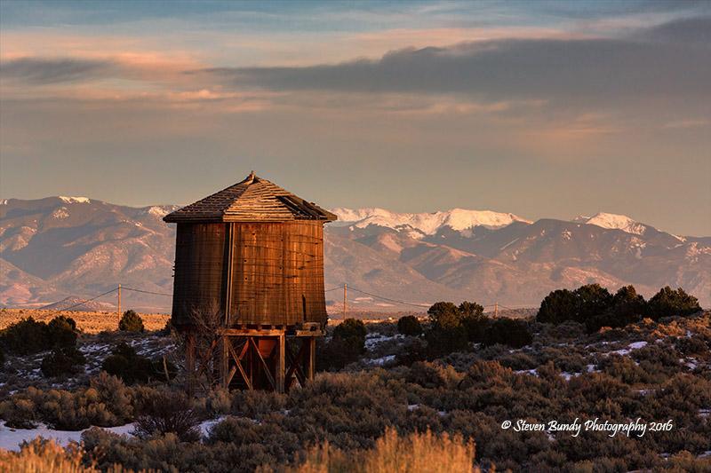 Tres Piedras Water Tank  Tres Piedras, NM – 2016