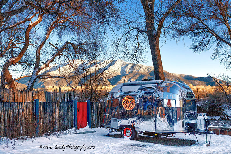 Airstream in Seco – Arroyo Seco, NM – 2016