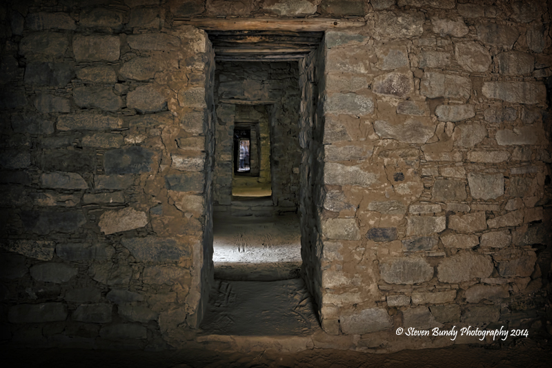 Aztec Ruins Corridor  Aztec National Monument, New Mexico – 2014