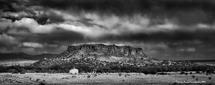 Black Mesa Chapel, New Mexico, 2011