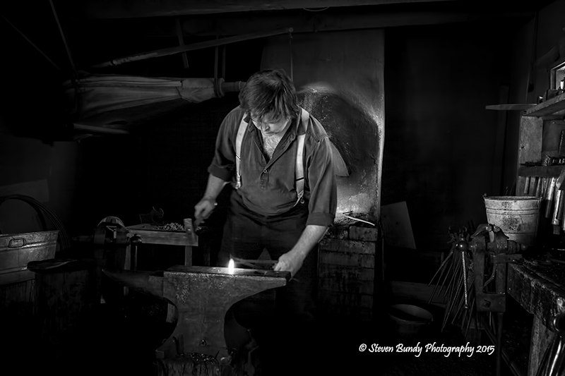 Blacksmith at Rayado – Rayado, NM – 2015