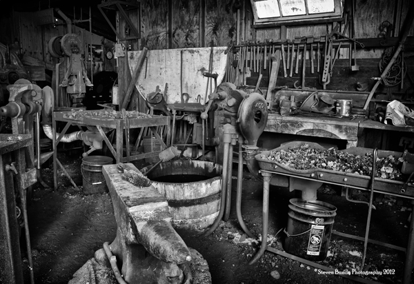 Blacksmith Shop, Vista, CA, 2010