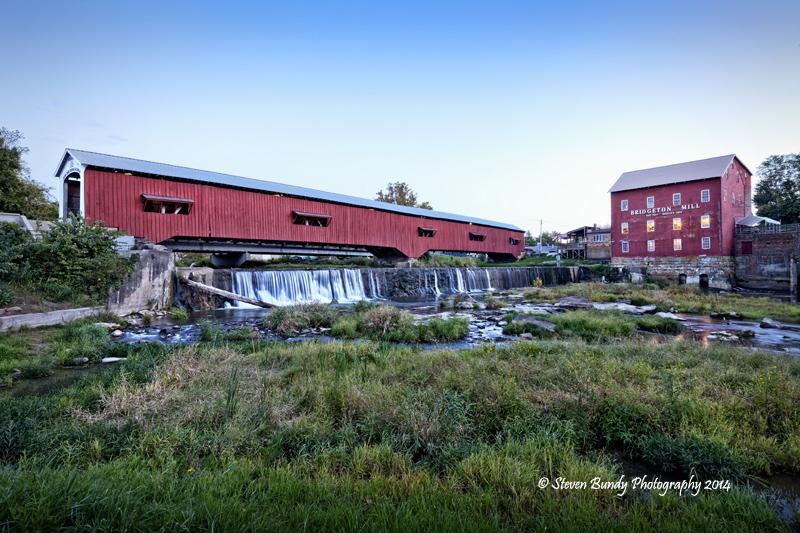 Bridgeton Mill Covered Bridge  Bridgeton, Indiana – 2014