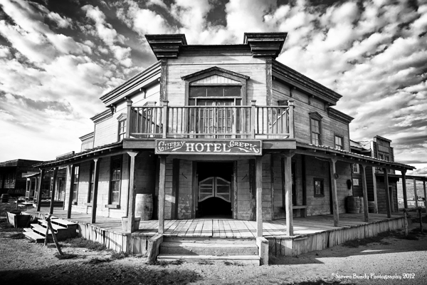 Cherry Creek Hotel & Saloon, NM, 2011