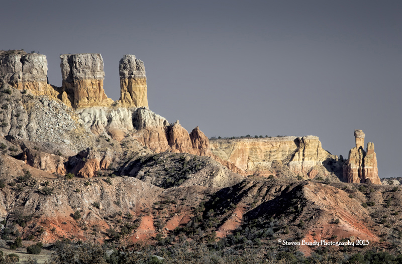 Chimney Rock & Portal Rock  Ghost Ranch, NM – 2013