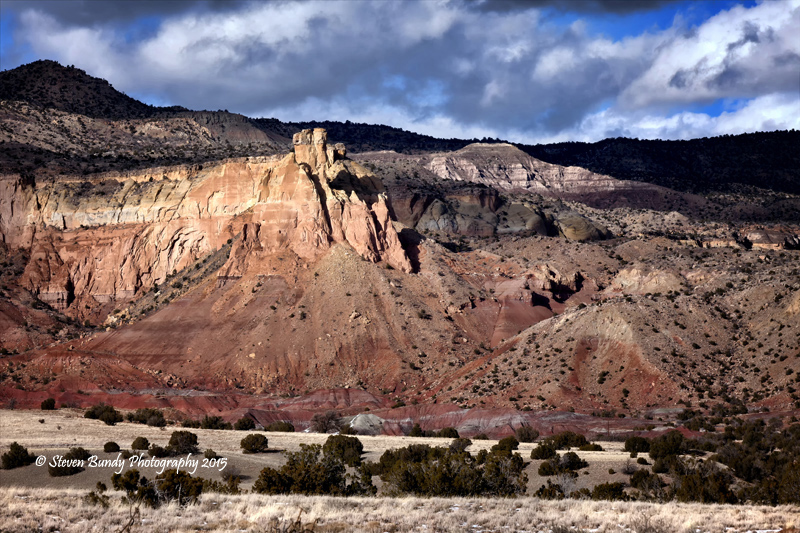 Chimney Rock at Ghost Ranch  Abiquiu, New Mexico – 2015