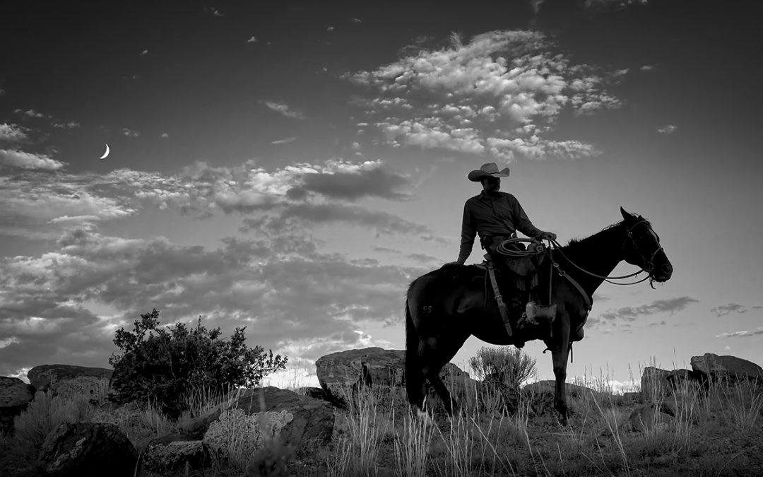 Cowboy Silhouette – San Marcos, NM – 2011