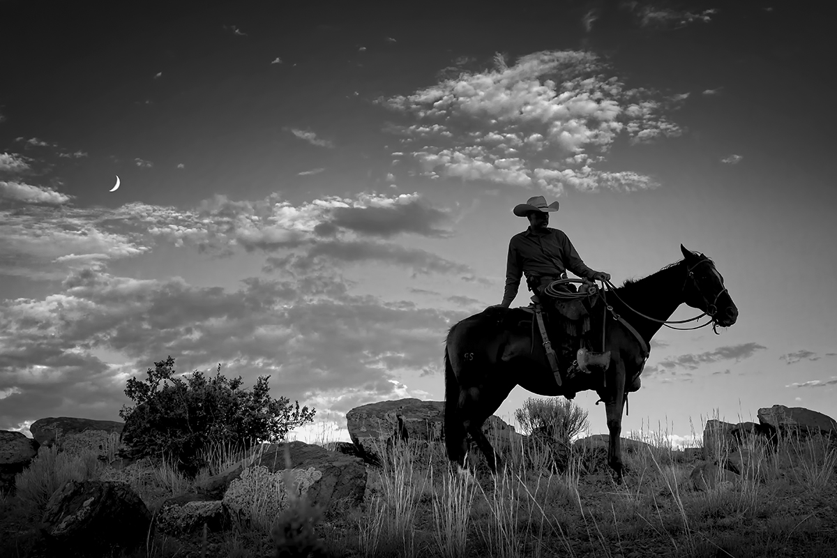 cowboy silhouette 02