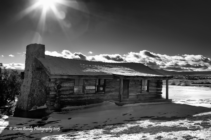Curly's Cabin – Ghost Ranch, New Mexico – 2015