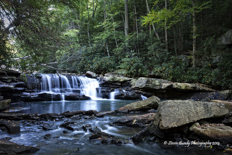 Decker's Creek Waterfall  Morgantown, West Virgina – 2014