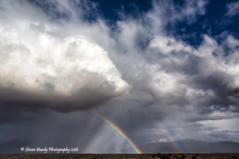 Double Rainbow – Taos, NM – 2016