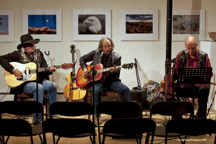 Burton & Friends, Taos, NM, 2012