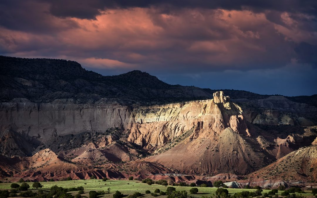 Ghost Ranch Sunset – Ghost Ranch, NM – 2013