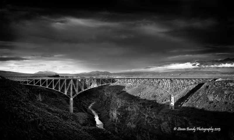 Rio Grande Gorge Bridge – Taos, NM – 2013