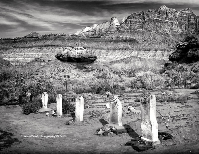 Grafton Cemetery – Grafton Ghost Town, Utah – 2005