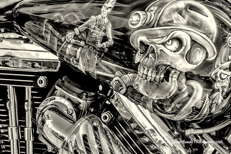 Harley Artwork – Espanola, NM – 2016