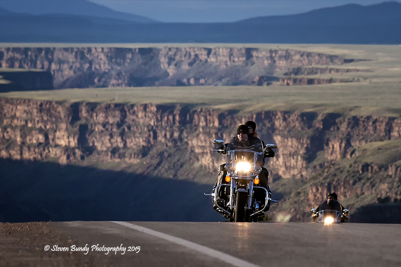 Harley's at the Overlook – Taos, NM – 2015