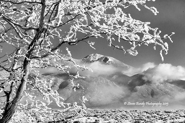 Icy View – Taos, NM – 2015