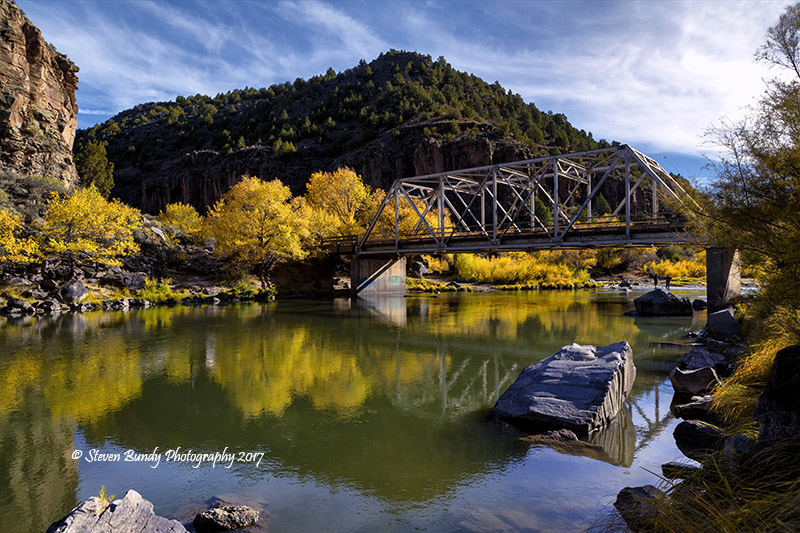 John Dunn Bridge Reflections  Arroyo Hondo, NM – 2017