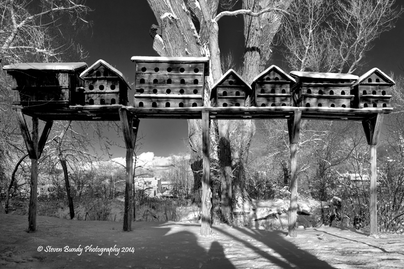 Mabel Dodge Bird Houses – Taos, NM – 2014