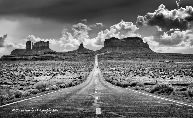 US Highway 163 – Monument Valley, Utah – 2014