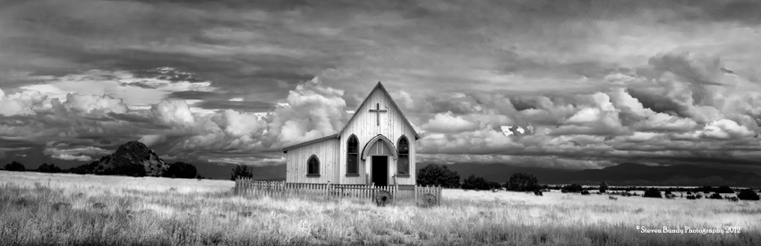 Movie Ranch Chapel, New Mexico, 2010