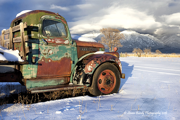 Old Truck View – Taos, NM – 2016