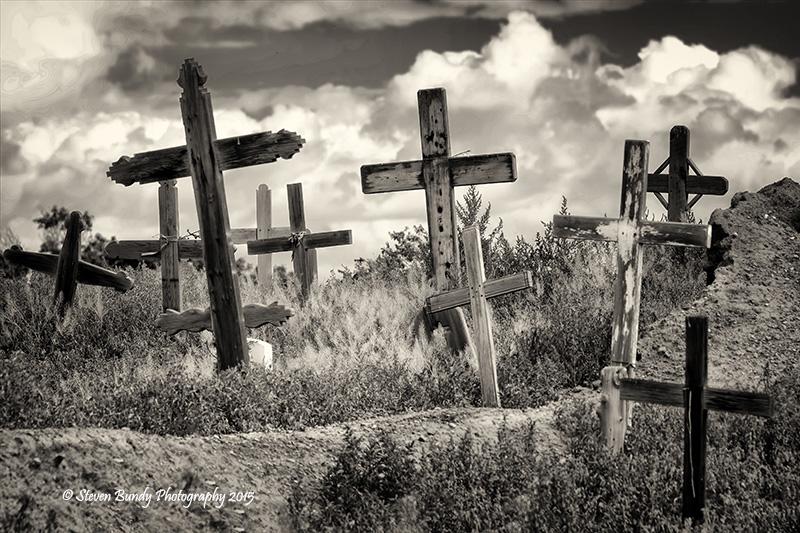 Pueblo Cemetery- Taos, NM – 2015