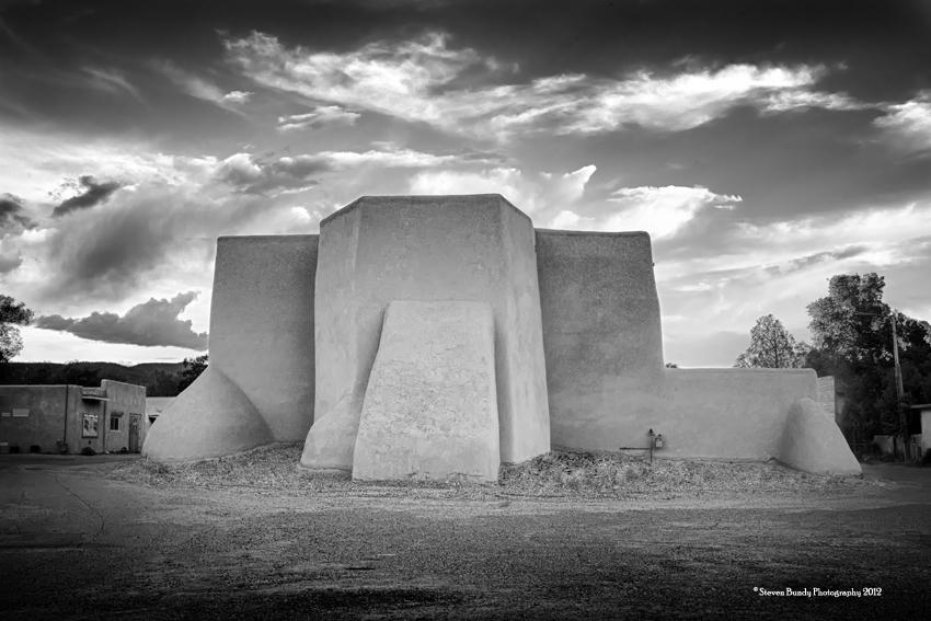 Ranchos Church, Taos, NM, 2012