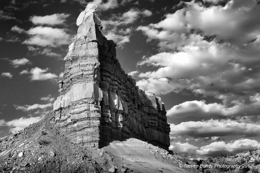 Roadside Rock – Abiquiu, NM – 2012