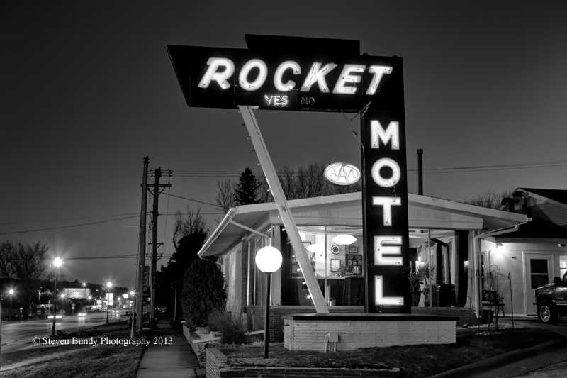 Rocket Motel – Custer, South Dakota- 2013