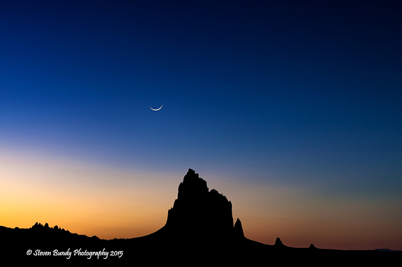 Shiprock Sunset – Shiprock, NM – 2015