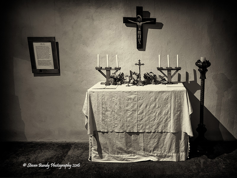 Shrine at Martinez Hacienda – Taos, NM – 2016