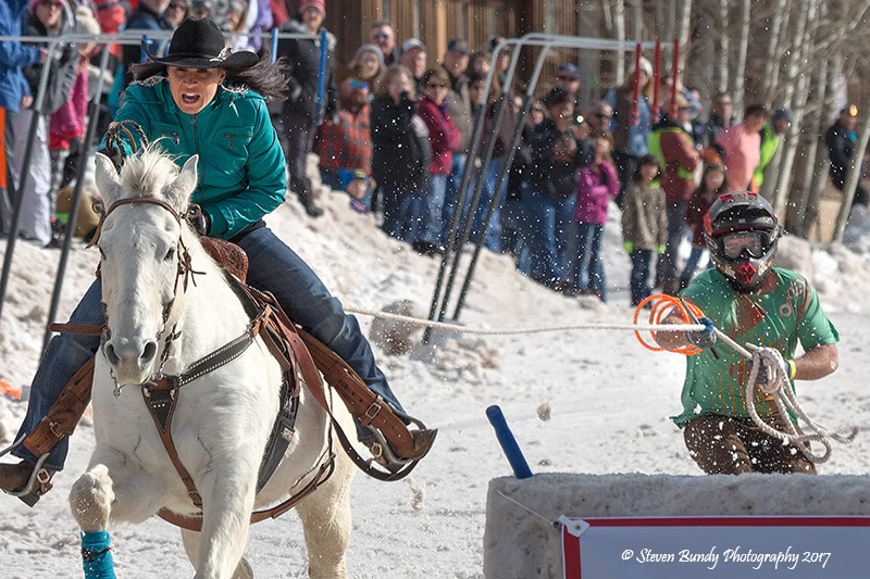 Skijoring – Red River, NM – 2017