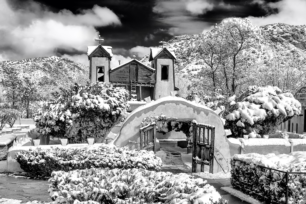 Snowy Chimayo
