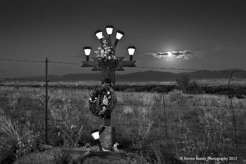 Solar Powered Descanso – San Ildefonso Pueblo, NM, 2012