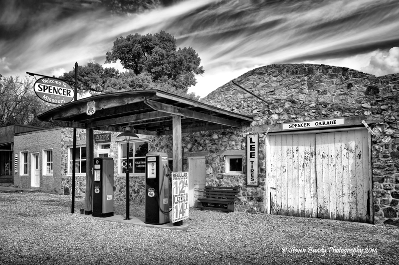 Spencer's Garage – Spencer, Missouri – 2014