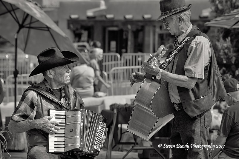 Street Music – Taos, New Mexico – 2017