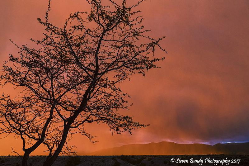 Sunset Rain – Taos, New Mexico – 2017