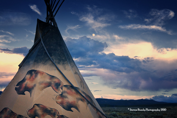 Full Moon Tipi – Taos, NM – 2010