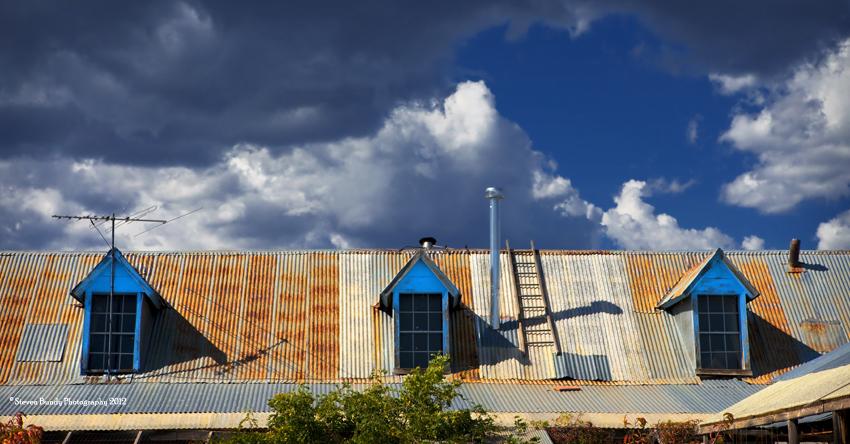 Tres Ventanas de Tejado Azul, NM, 2010