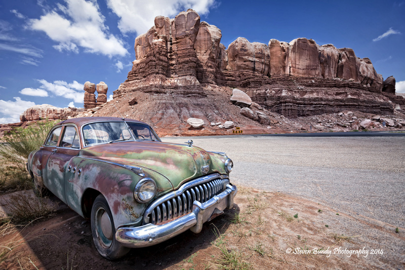 Twin Rocks Buick, Bluff, Utah – 2014