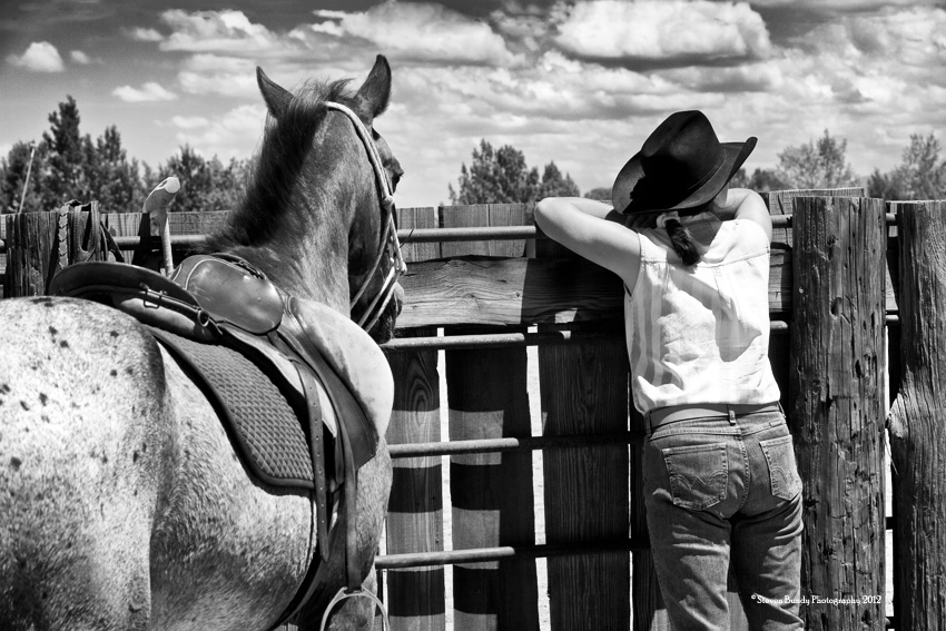 Watching the Arena- San Marcos, NM, 2012