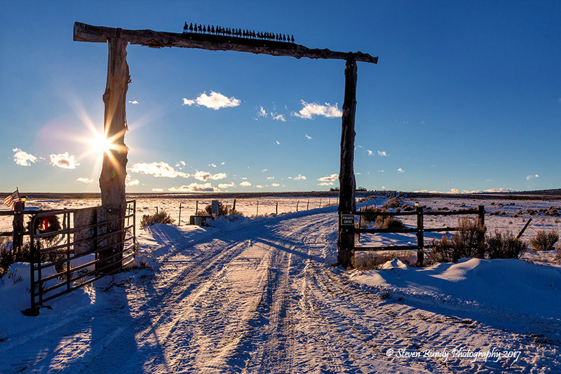 West Gorge Ranch Gate – Taos, NM – 2017