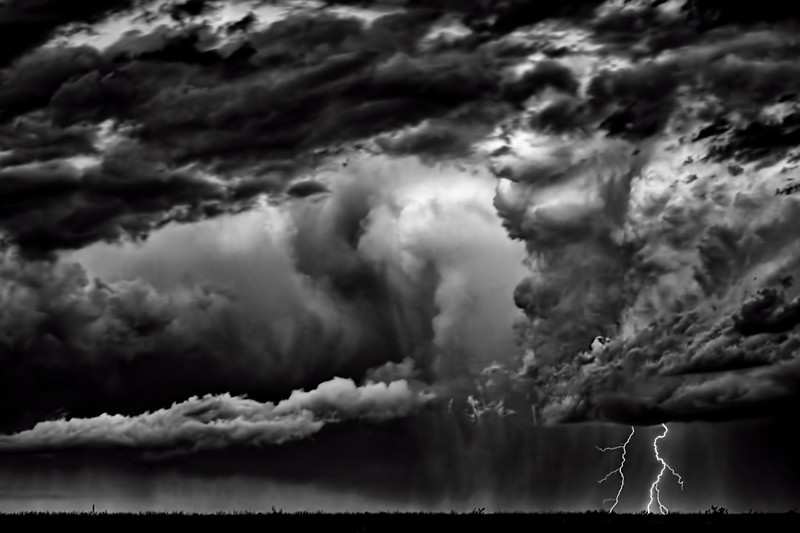 West Mesa Lightning – Taos, NM – 2014