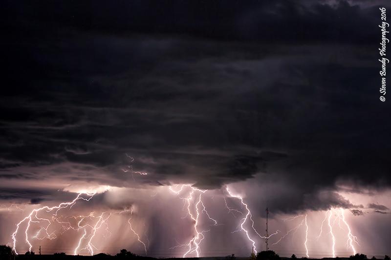 West Mesa Lightning Storm – Taos, NM – 2016
