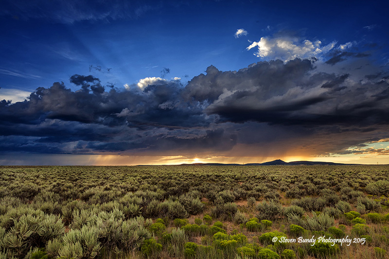 West Mesa Sunset – Carson, NM – 2015