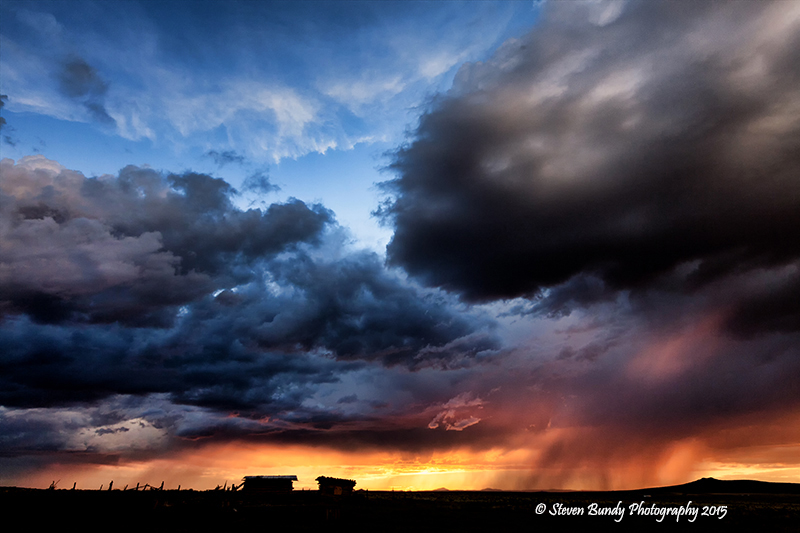 West Mesa Sunset 02- Carson, NM – 2015